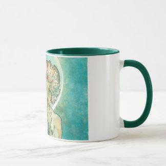 Alphonse Mucha Moonlight Clair De Lune Art Nouveau Mug