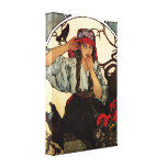 Alphonse Mucha Moravian Canvas Poster Gallery Wrap Canvas