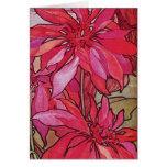 Alphonse Mucha Poinsettias Christmas Note Cards