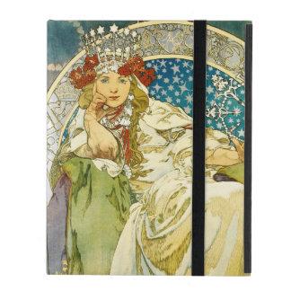 Alphonse Mucha Princess Hyacinth Art Nouveau Cases For iPad