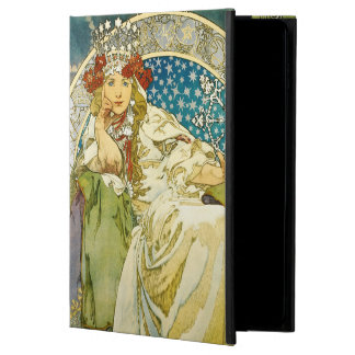 Alphonse Mucha Princess Hyacinth Art Nouveau Powis iPad Air 2 Case