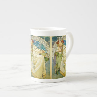 Alphonse Mucha Princess Hyacinth Art Nouveau Tea Cup