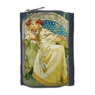 Alphonse Mucha Princess Hyacinth Art Nouveau Wallet
