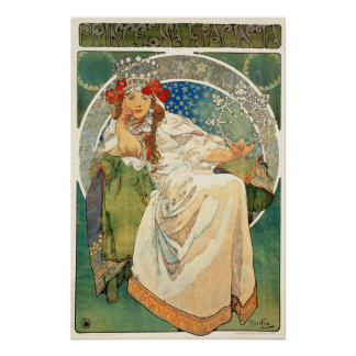 Alphonse Mucha Princess Hyacinth Poster