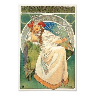 Alphonse Mucha Princess Hyacinth Print Photo Print