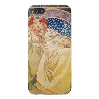 Alphonse Mucha. Princezna Hyacinta, 1911 iPhone 5/5S Cases