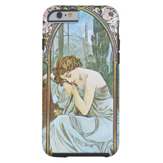 Alphonse Mucha. Repos De La Nuit/Nocturnal Slumber Tough iPhone 6 Case