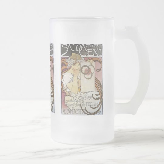Alphonse Mucha Salon des Cent Mug