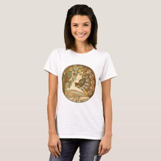 ALPHONSE MUCHA T-Shirt Ivy Design, c. 1909