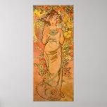 Alphonse Mucha The Rose Poster