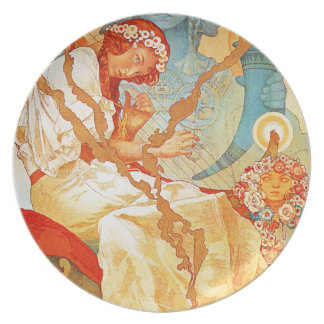 Alphonse Mucha The Slav Epic Plate