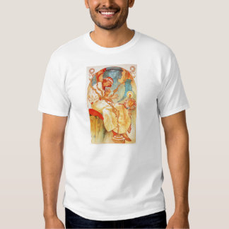 Alphonse Mucha The Slav Epic T-shirt