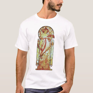 Alphonse Mucha - White Star T-Shirt