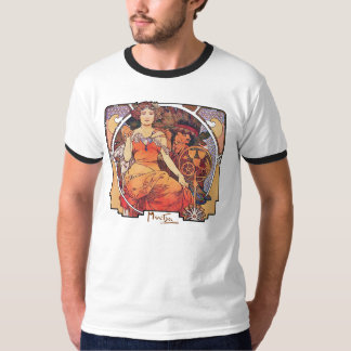 Alphonse Mucha -  World's Fair 1904  St. Louis T-Shirt