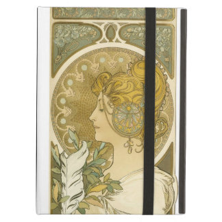 Alphonse Mucha's La Plume Case For iPad Air