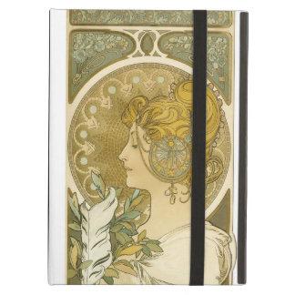 Alphonse Mucha's La Plume iPad Air Cover
