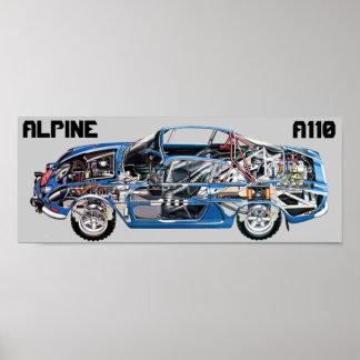 ALPINE A110 POSTER