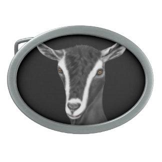 Alpine  Dairy Goat Belt Buckle