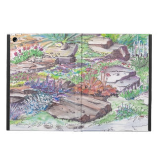 Alpine Garden Landscaping Case For iPad Air