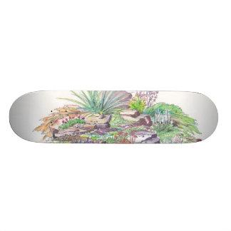 Alpine Garden Landscaping Skate Board Deck