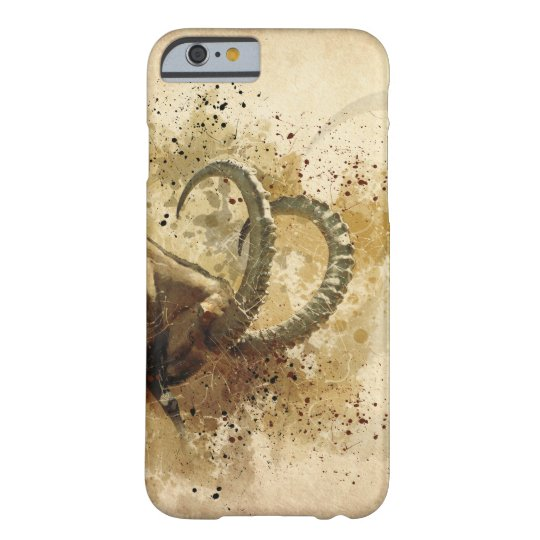 Alpine ibex barely there iPhone 6 case