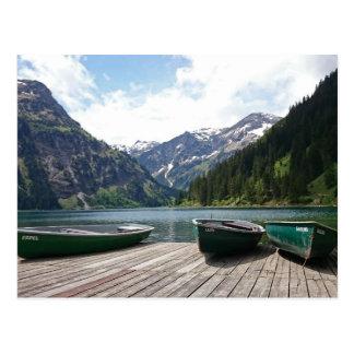 Alpine Lake Postcard