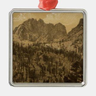 Alpine Lake, Sierra Nevada Christmas Ornament