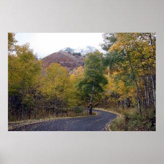 Alpine Loop Mount Timpanogos, Utah Poster