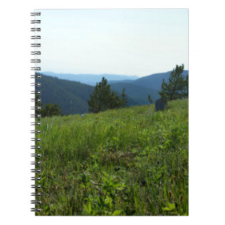 Alpine Meadow Notebook