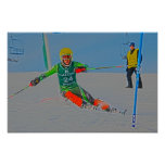 Alpine Race Poster D1361-061