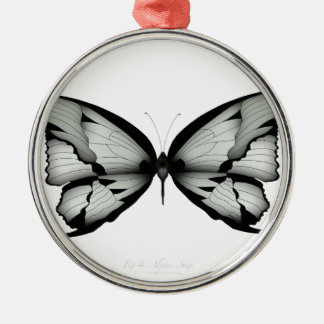 Alpine Sage Butterfly Christmas Ornament