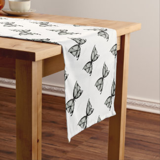 Alpine Sage Butterfly Short Table Runner