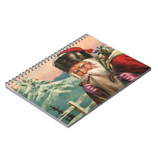 Alpine Santa Notebook