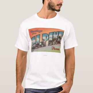 Alpine, TexasLarge Letter ScenesAlpine, TX T-Shirt