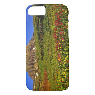 Alpine wildflowers at Logan Pass in Glacier iPhone 8/7 Case