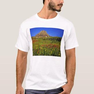 Alpine wildflowers at Logan Pass in Glacier T-Shirt