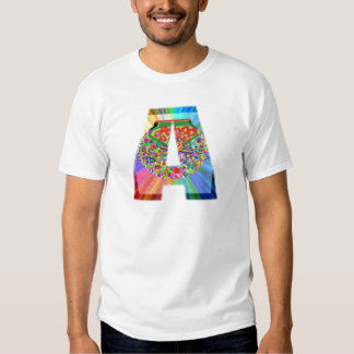 Alplhabet Jewel A - Decorative Vowels Consonents T-Shirt