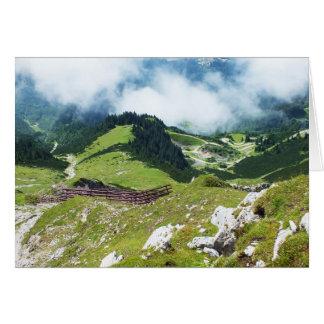 Alps in Austria Card
