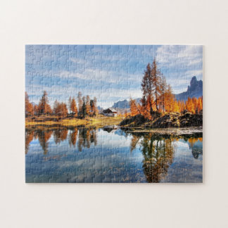 Alps In Autumn Jigsaw Puzzle