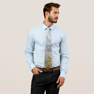 Alps Mountains Lake Hiker Wilderness Tie