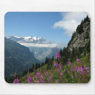 Alps, Mountains Mouse Mat