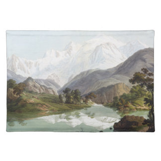 Alps Wilderness Lake Mt Blanc Placemat