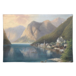 Alps Wilderness Lake Town Hamlet Placemat