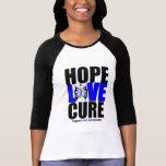ALS Awareness Hope Love Cure (V.2) Tee Shirts