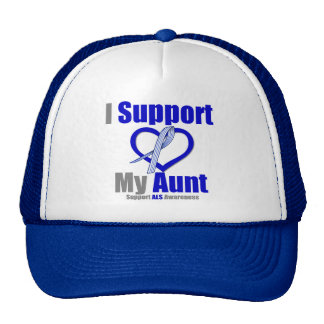 ALS Awareness I Support My Aunt Hats