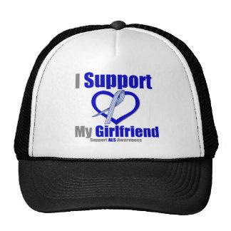 ALS Awareness I Support My Girlfriend Trucker Hats