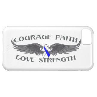 ALS Courage Faith Wings iPhone 5C Cases
