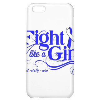 ALS Fight Like A Girl Elegant Cover For iPhone 5C