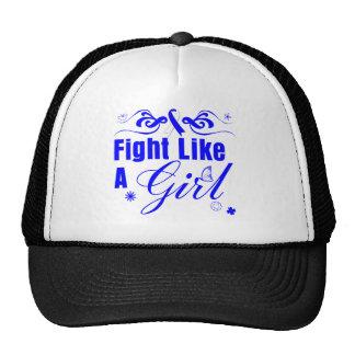 ALS Fight Like A Girl Ornate Cap