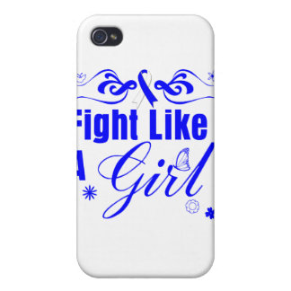 ALS Fight Like A Girl Ornate Covers For iPhone 4